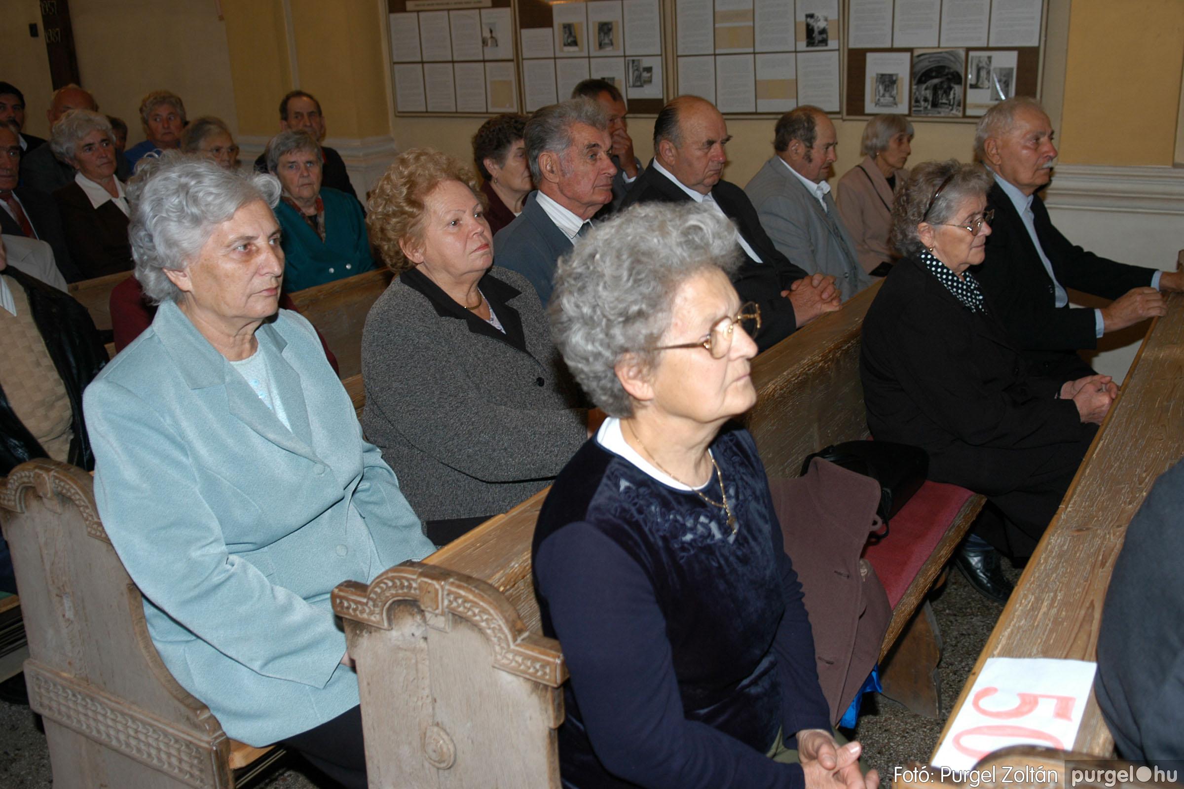 2007.09.30. 007 Kisboldogasszony Templom házassági évfordulók - Fotó:PURGEL ZOLTÁN© DSC_0095q.jpg