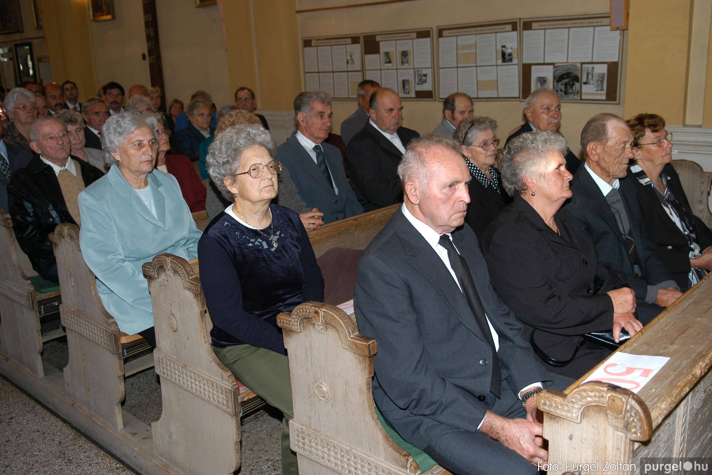 2007.09.30. 006 Kisboldogasszony Templom házassági évfordulók - Fotó:PURGEL ZOLTÁN© DSC_0094q.jpg