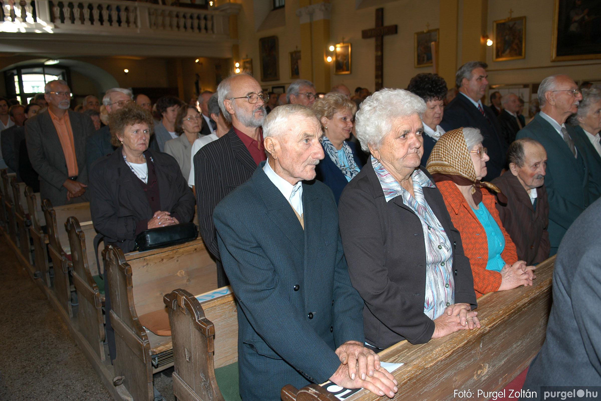 2007.09.30. 004 Kisboldogasszony Templom házassági évfordulók - Fotó:PURGEL ZOLTÁN© DSC_0092q.jpg