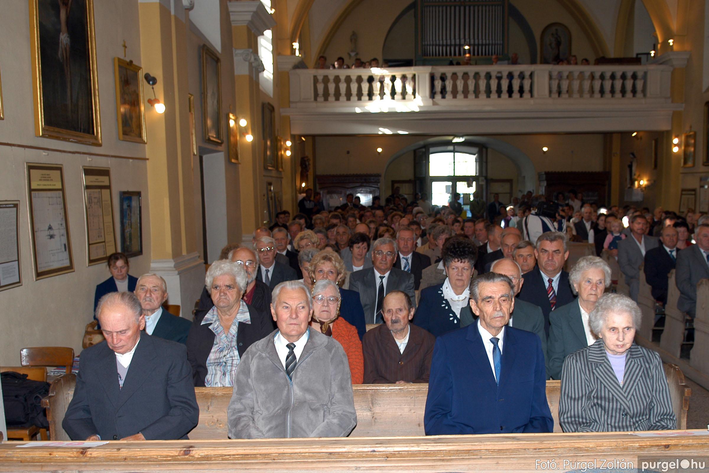 2007.09.30. 001 Kisboldogasszony Templom házassági évfordulók - Fotó:PURGEL ZOLTÁN© DSC_0085q.jpg