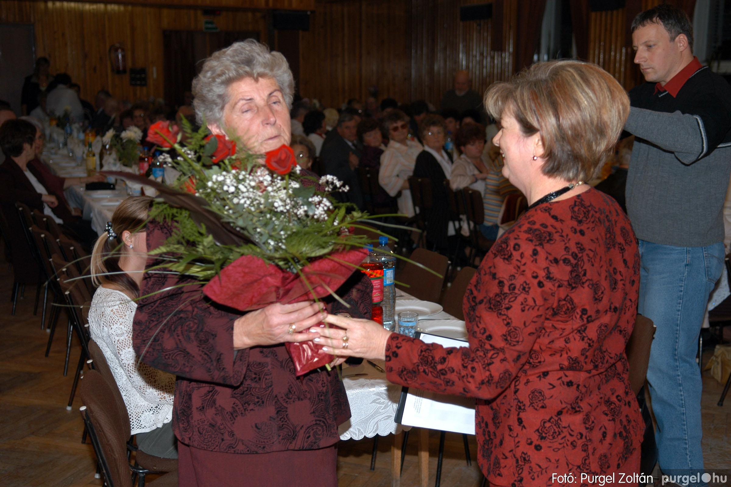 2007.11.10. 010 Szép Öregkor Nyugdíjas Klub bál - Fotó:PURGEL ZOLTÁN© DSC_0014q.jpg