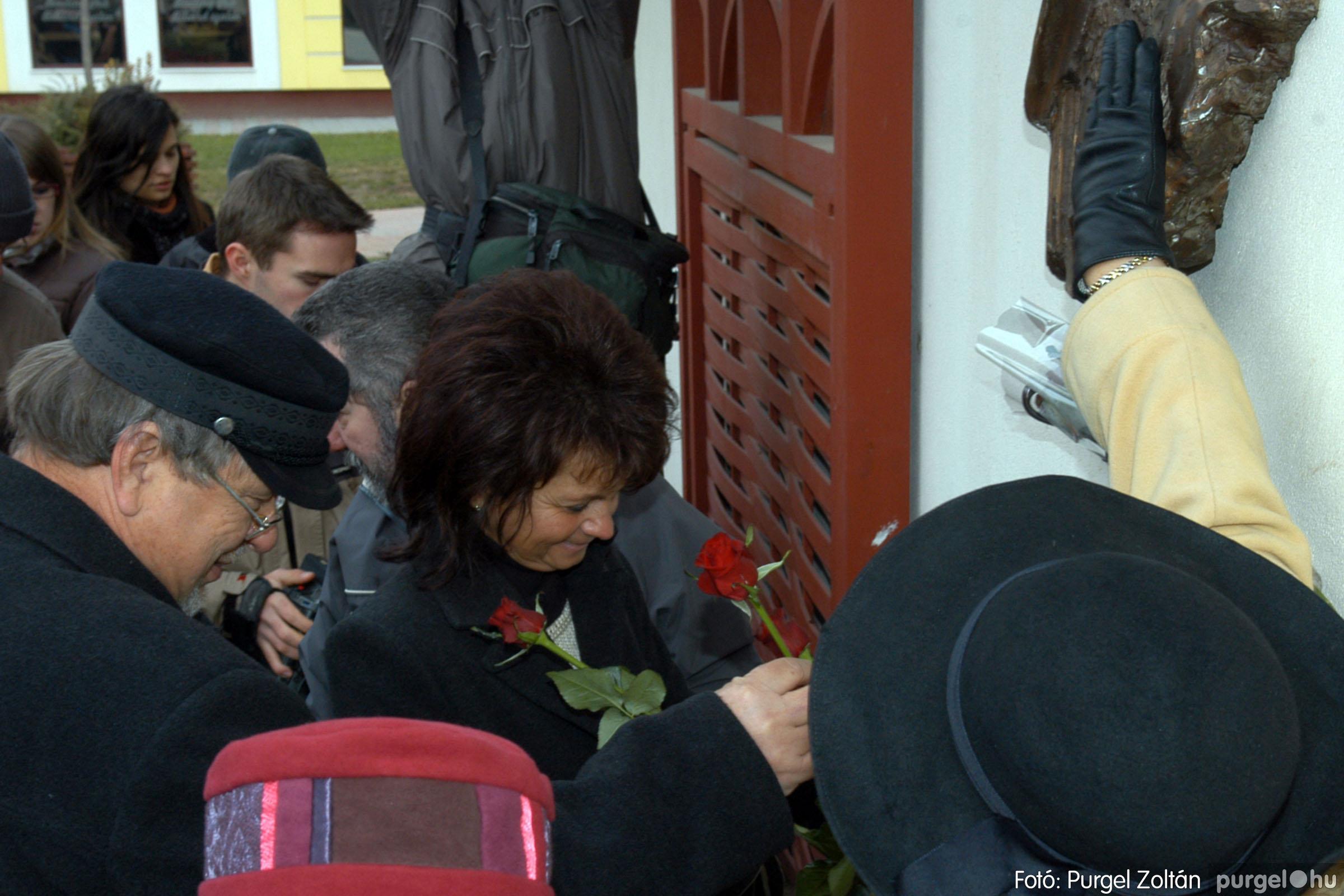 2007.11.30. 023 Rózsa Gábor tér avatása Szentesen - Fotó:PURGEL ZOLTÁN© DSC_0289q.jpg