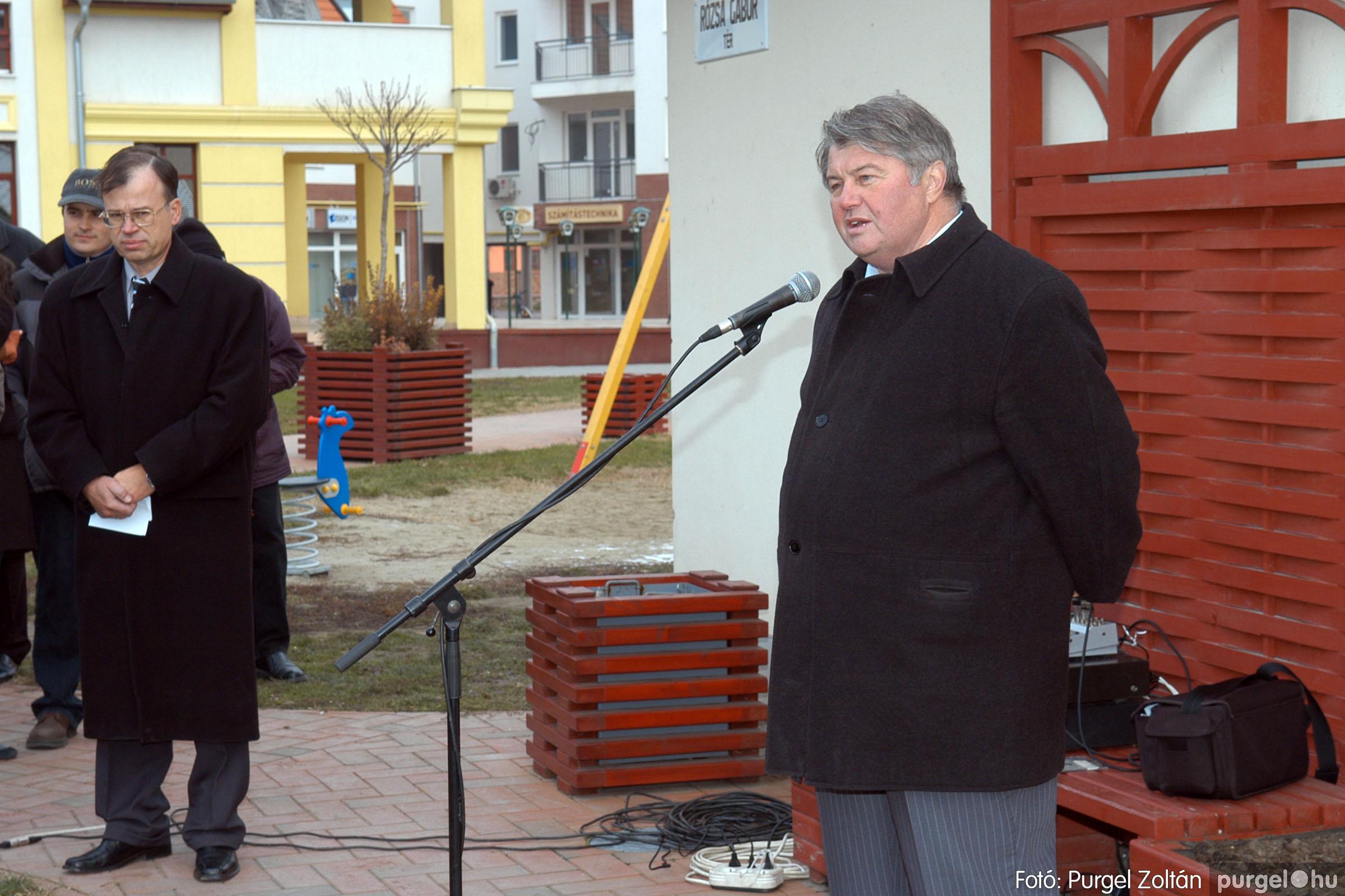 2007.11.30. 013 Rózsa Gábor tér avatása Szentesen - Fotó:PURGEL ZOLTÁN© DSC_0272q.jpg