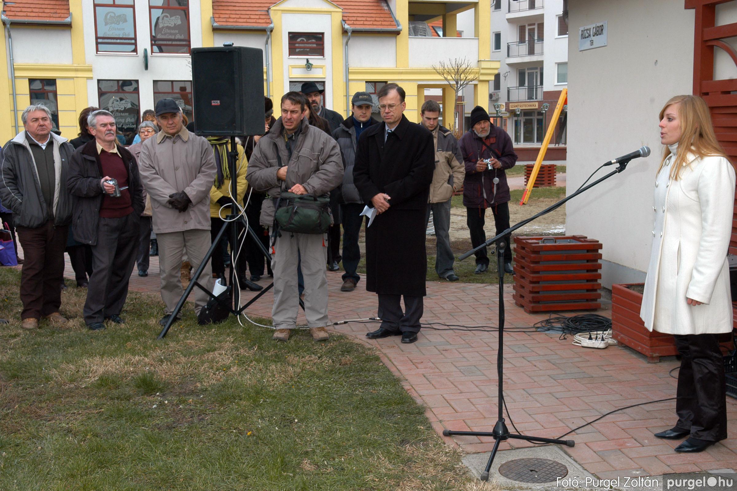 2007.11.30. 011 Rózsa Gábor tér avatása Szentesen - Fotó:PURGEL ZOLTÁN© DSC_0270q.jpg