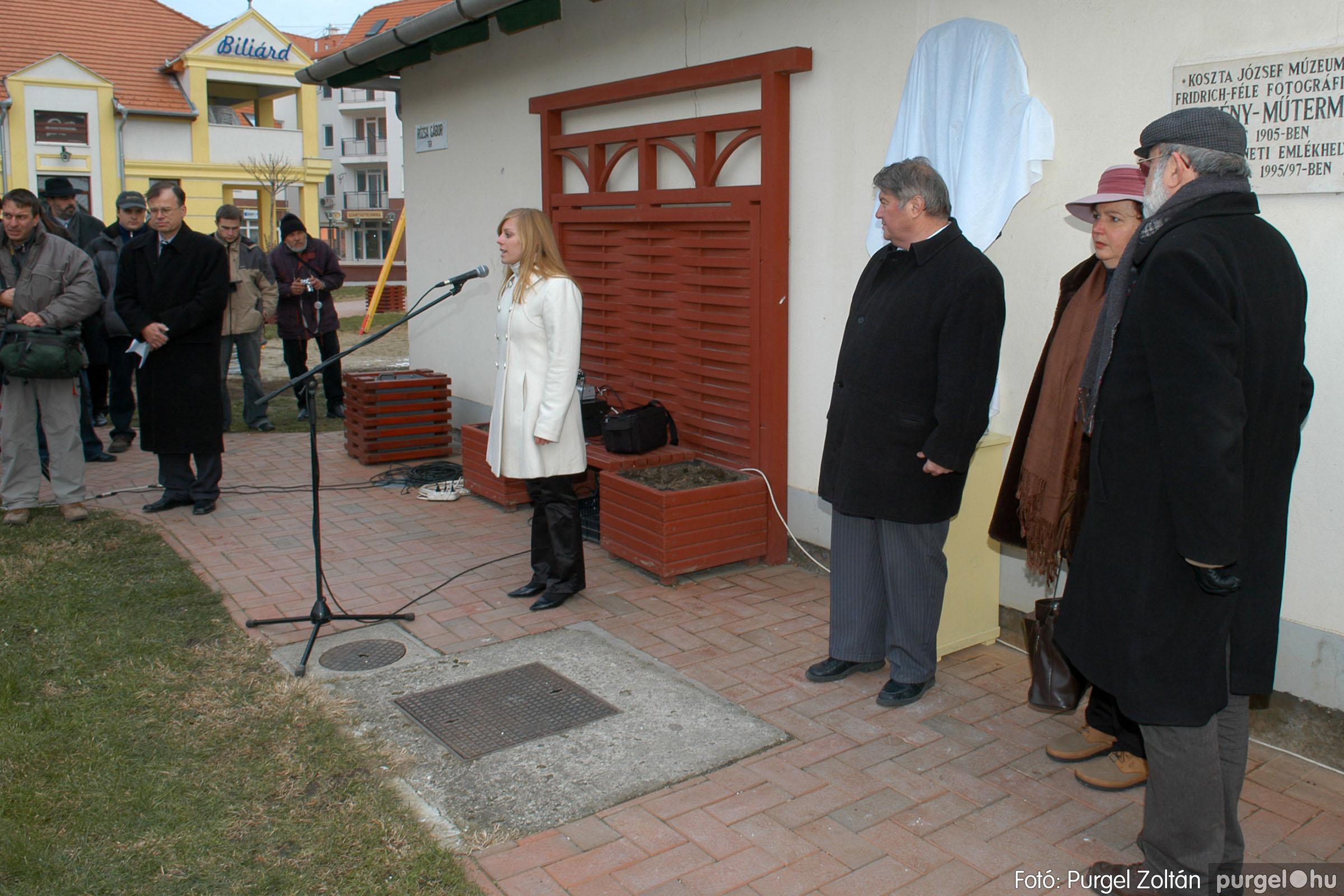 2007.11.30. 010 Rózsa Gábor tér avatása Szentesen - Fotó:PURGEL ZOLTÁN© DSC_0269q.jpg