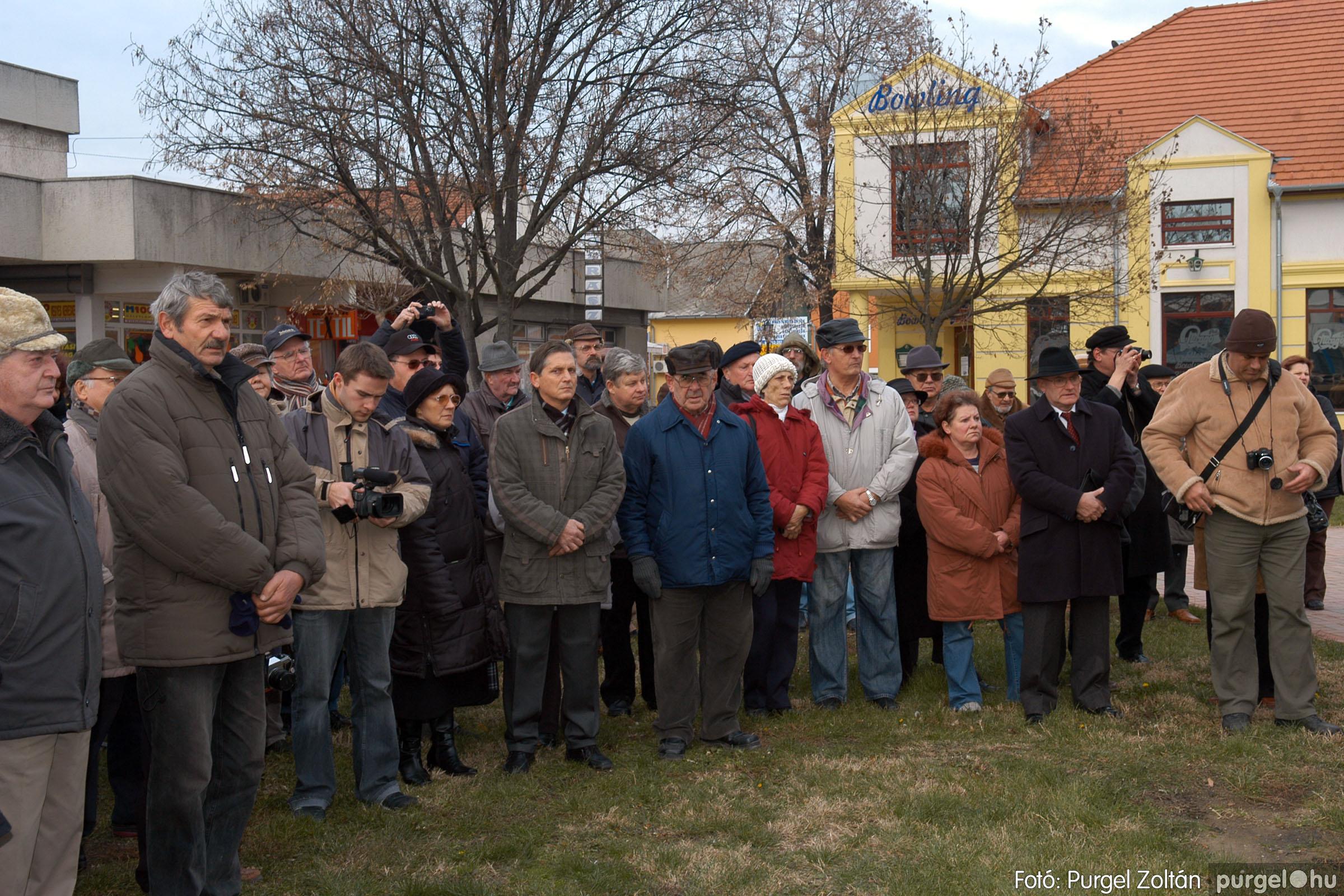 2007.11.30. 003 Rózsa Gábor tér avatása Szentesen - Fotó:PURGEL ZOLTÁN© DSC_0262q.jpg