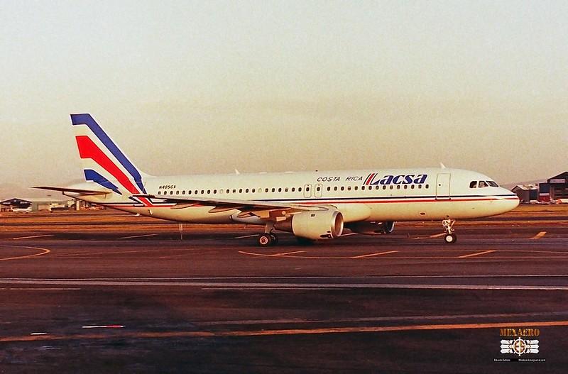 LACSA / Airbus A320-212 / N485GX