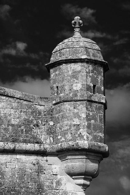 La guérite de la citadelle sur la Gironde, Blaye en Saintonge