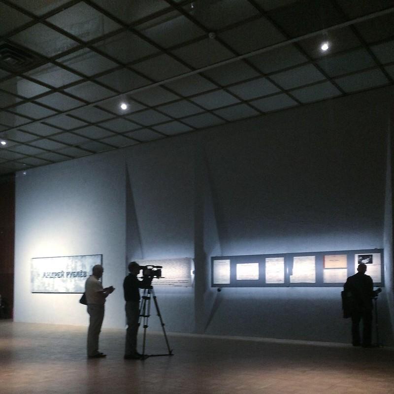 Выставка про Тарковского в новом крыле ГТГ