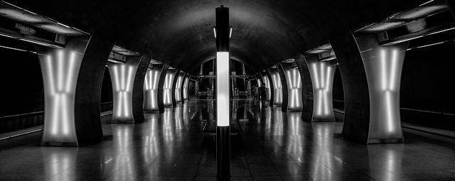 Hungary, Budapest - Metro-4