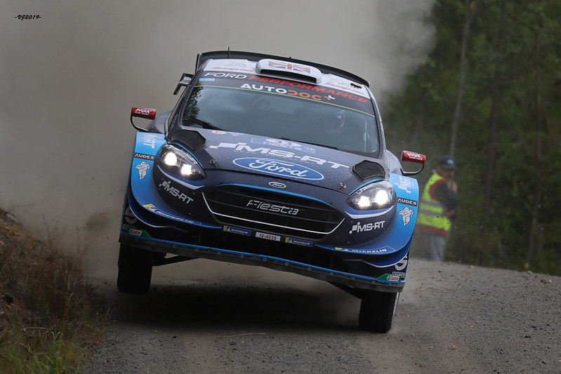 Gus Greensmith, Ford Fiesta WRC