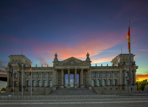 reichstag berlin deutschland germany sunrise bundestag parliament