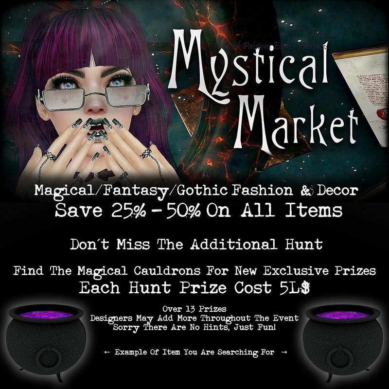 Mystical Market 2019 - Shopper & Hunt Info
