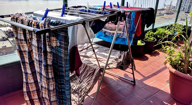 Balcony Clothes Drying