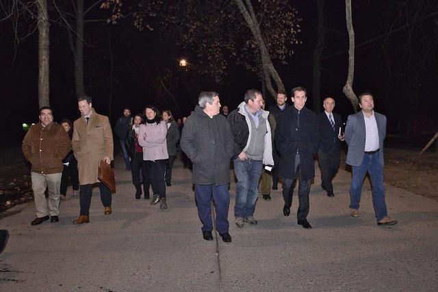 #EnTerreno : Reunión Con Vecinos en Parque O'Higgins
