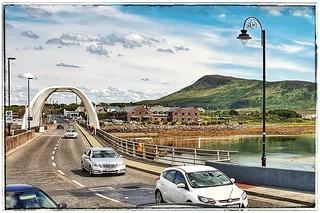 Come on in to Achill Sound - Achill Island, Ireland - 02 August 2019 . . . . . . #achillisland #achill #mayo #countymayo #westofireland #westcoast #wildatlanticway #atlantic #atlanticocean #island #islands #westcoast #westofireland #connacht #rural #europ