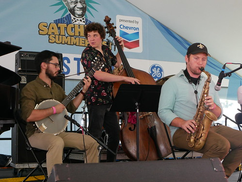 Dinosaurchestra at Satchmo Summer Fest - August 2, 2019. Photo by Louis Crispino.