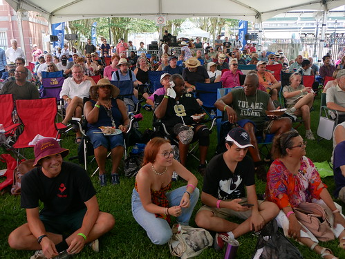 Audience at Satchmo Summer Fest - August 2, 2019. Photo by Louis Crispino.