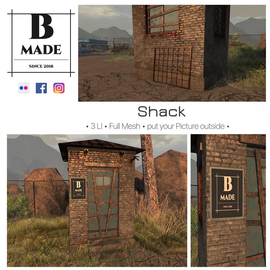 B- Made Shack - TeleportHub.com Live!