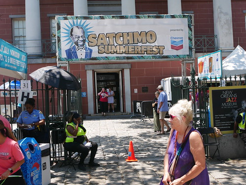 Entrance at Satchmo Summer Fest - August 2, 2019. Photo by Louis Crispino.