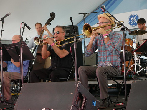 Palm Court Jazz Band at Satchmo Summer Fest - August 2, 2019. Photo by Louis Crispino.