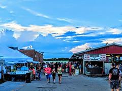 The clouds of the fair. #CCFair2019 2Aug2019