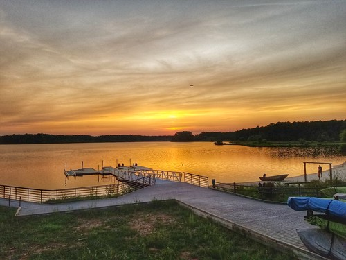 lakecrabtree raleighnorthcarolina sunset