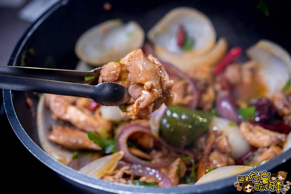 聞雞起爐麻辣雞煲火鍋(港式料理)-33