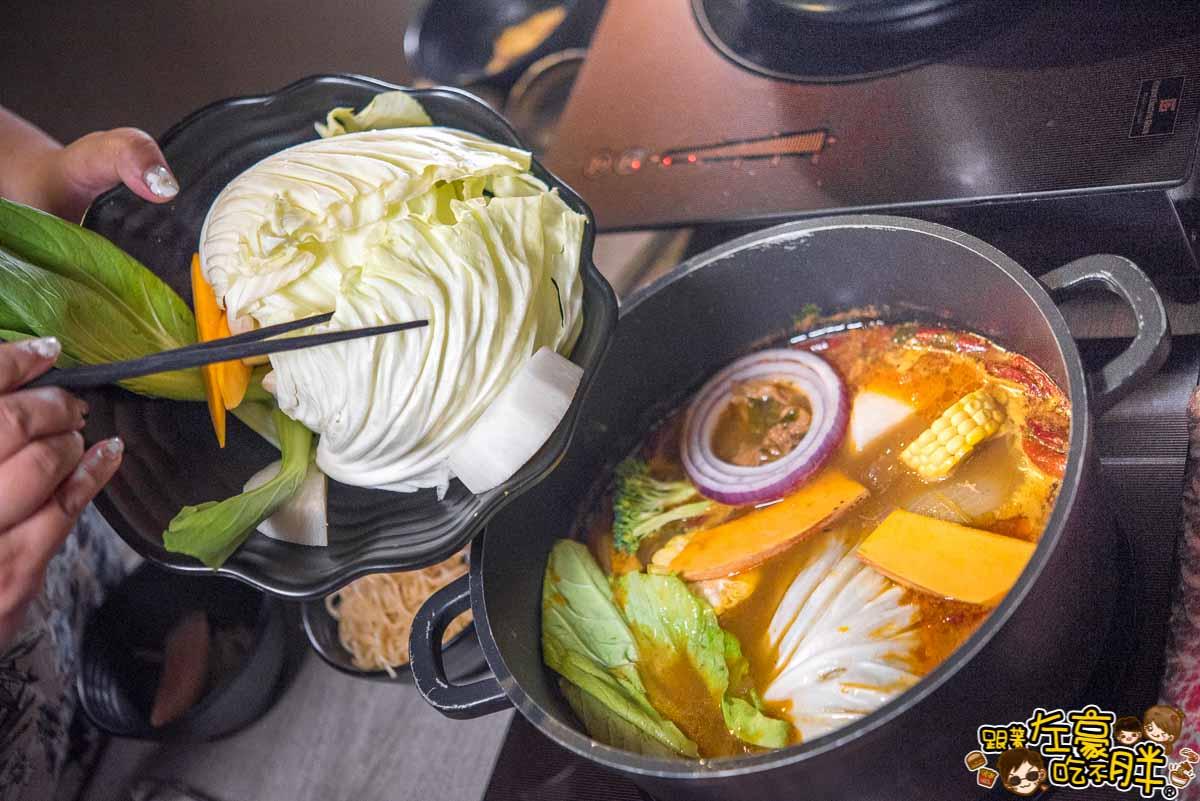 聞雞起爐麻辣雞煲火鍋(港式料理)-85