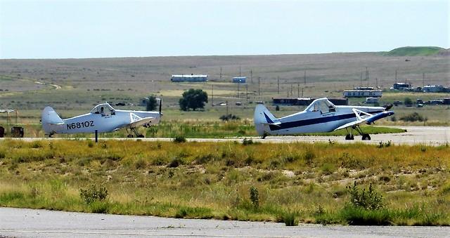 72819-12, N68107 & N9609P Piper Pawnee Glider Tow Planes