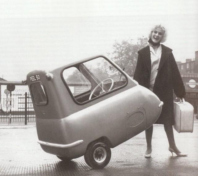 1963 Peel 50 Prototype Micro Press Photo - England