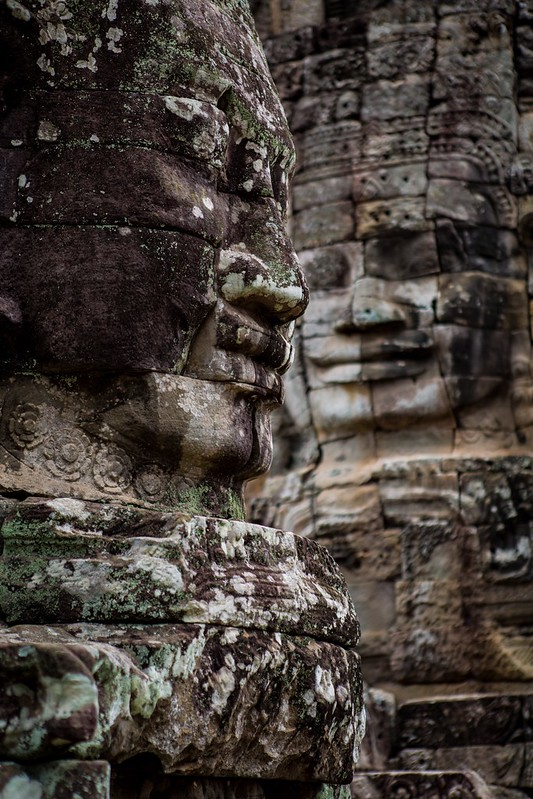 The Faces Of The Bayon, Cambodia