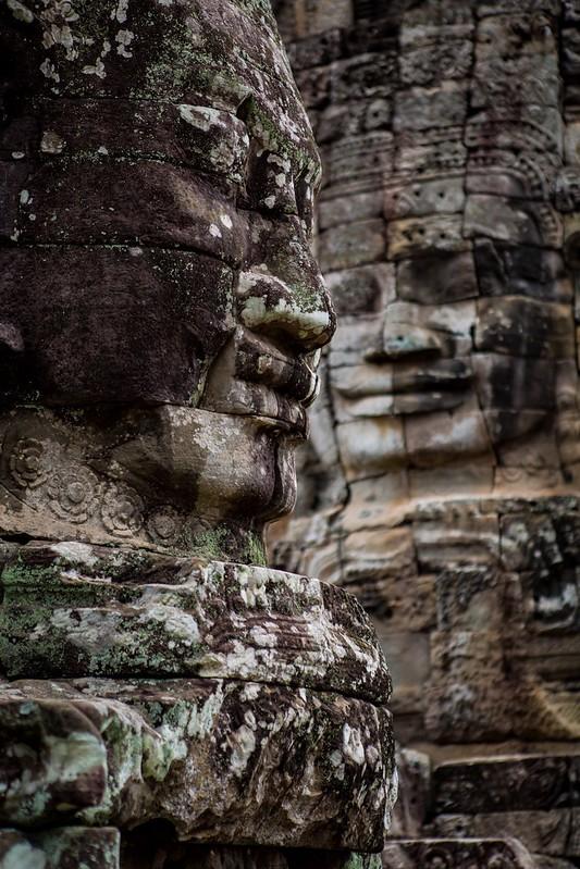 The Faces Of The Bayon, Cambodia