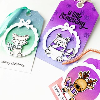 Avery Elle holiday tags