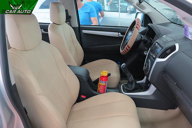 Bọc ghế da xe ô tô Isuzu Dmax