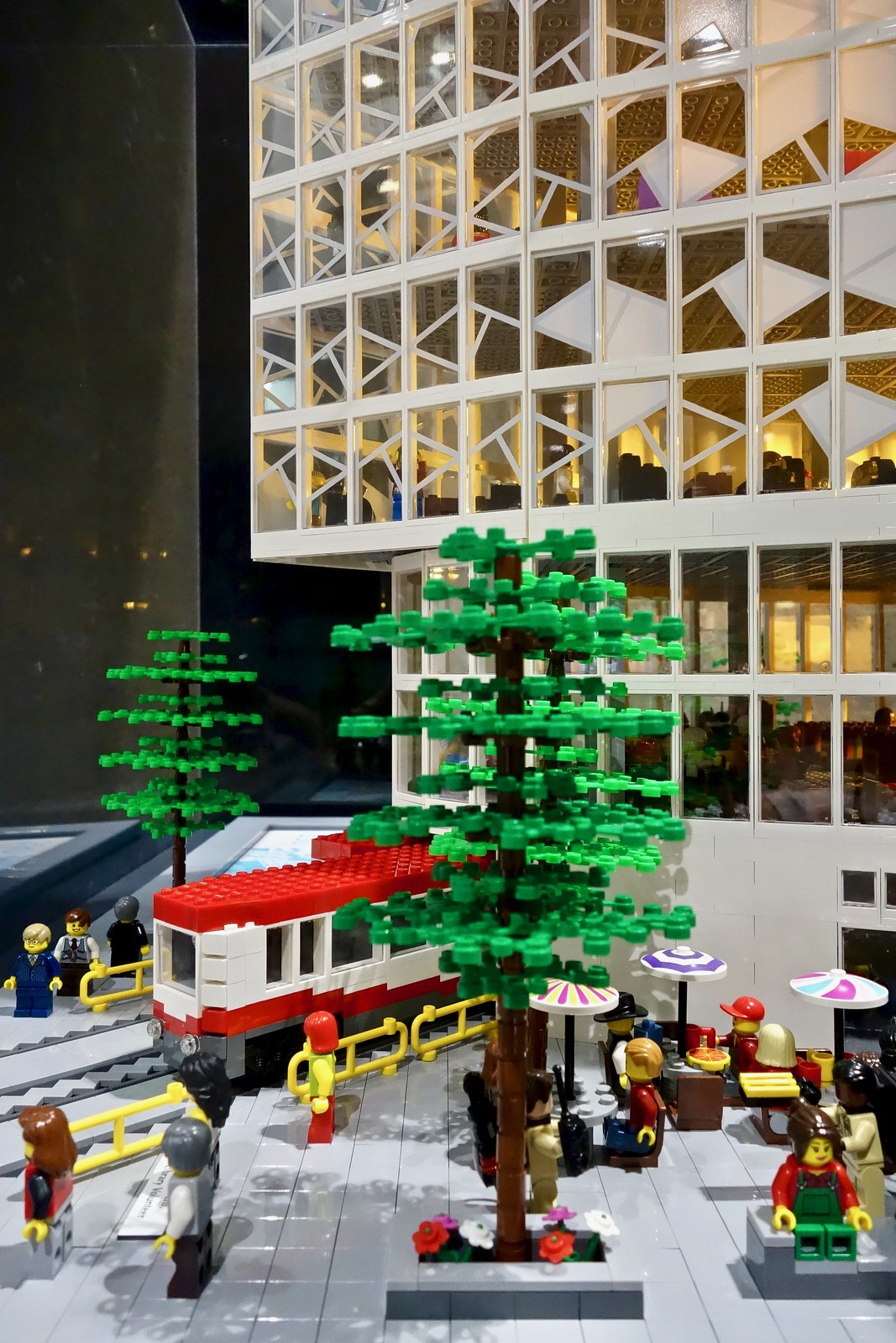 Lego library, Calgary, Alberta, Canada
