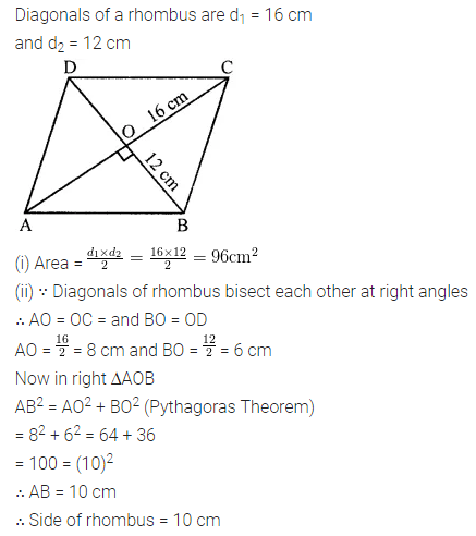 ICSE Class 8 Maths Book Solutions Free Download Pdf Chapter 18 Mensuration Check Your Progress Q9