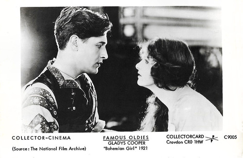 Gladys Cooper and Ivor Novello in The Bohemian Girl (1922)