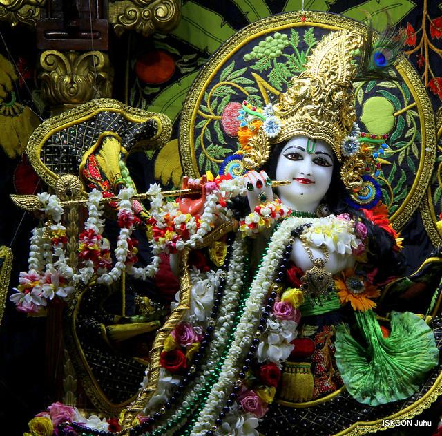 ISKCON Juhu Sringar Deity Darshan on 3rd Aug 2019