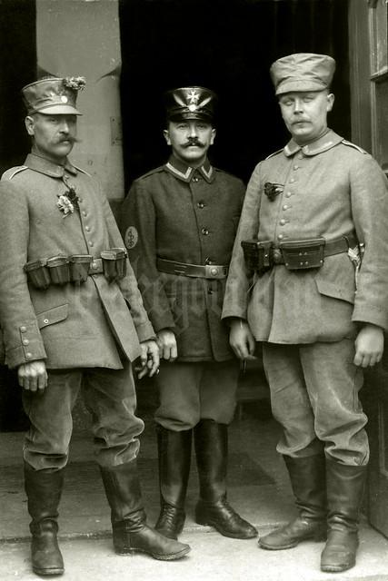 Landsturmmann Unteroffizier Jakob Scheidt and friends, Landsturm Infanterie Ersatz Bataillon 'München' (I B 16)