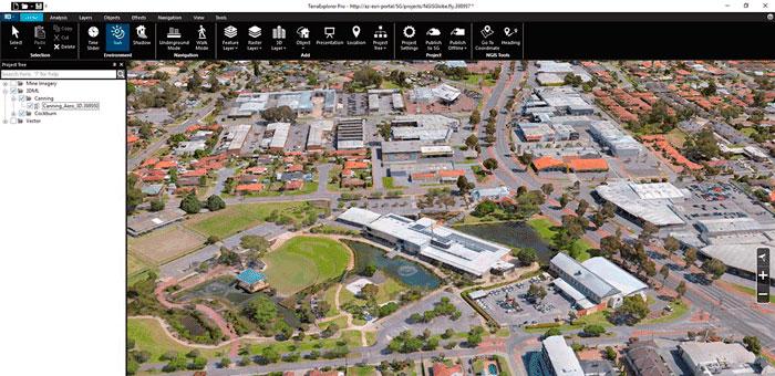 Working with Skyline TerraExplorer Pro 7.1 full license