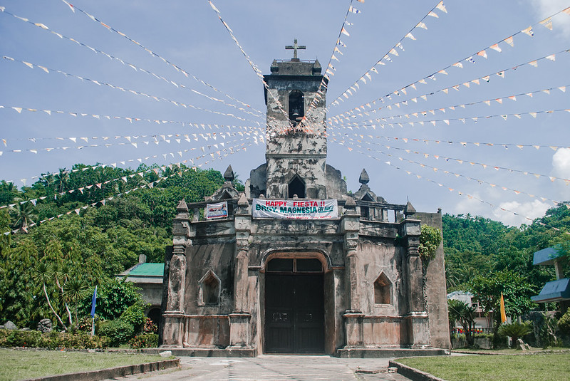 an old church in Catanduanes