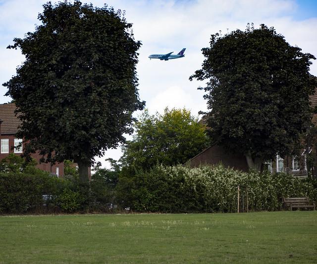 View from Kneller Gardens, Twickenham
