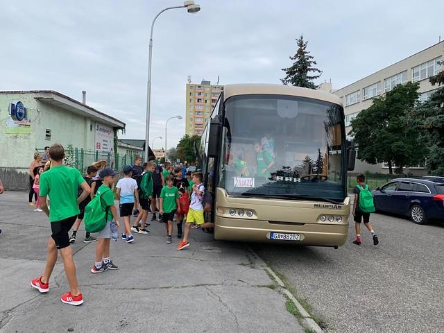 Sústredenie U15 a U13 - Zlaté Moravce (08/2019)