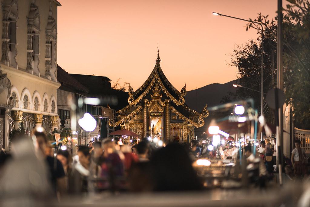 Chiang Maï Flower Festival