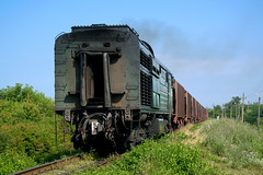 CFM 2ТЭ10Л-2077 | Freight train to Balti | Moldava