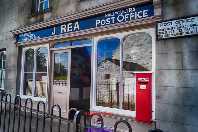 Ballycultra post office Ulster folk museum
