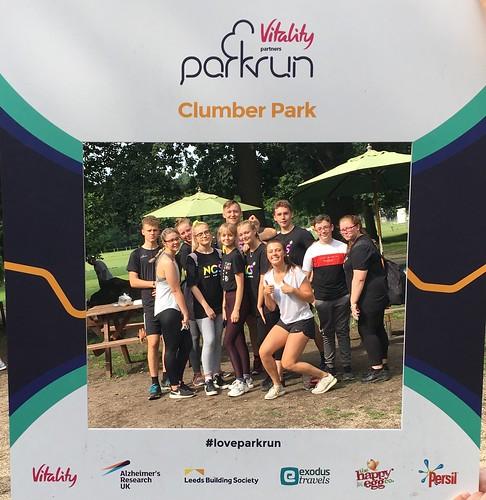 Clumber Park parkrun 030819