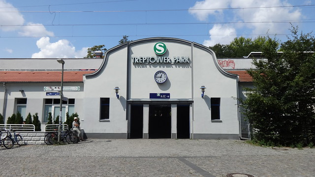 1896 Berlin S-Bahnhof Treptower Park in Jugendstil an der Ringbahn S8/S9/S41/S42/S85 Am Treptower Park in 12435 Treptow