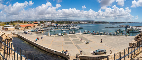 cyprus landscape harbour walking boat panorama paphos holiday spring pafos κύπροσ πάφοσ